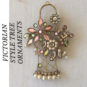 Other - VICTORIAN STYLE CHRISTMAS TREE ORNAMENTS